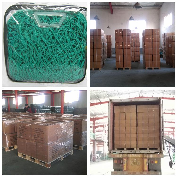 Knotless Cargo Net